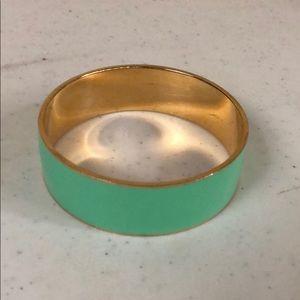 Mint green jcrew bracelet